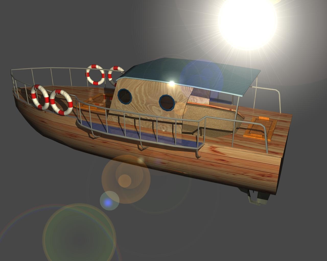 jauns laiva 3d 3ds 165406