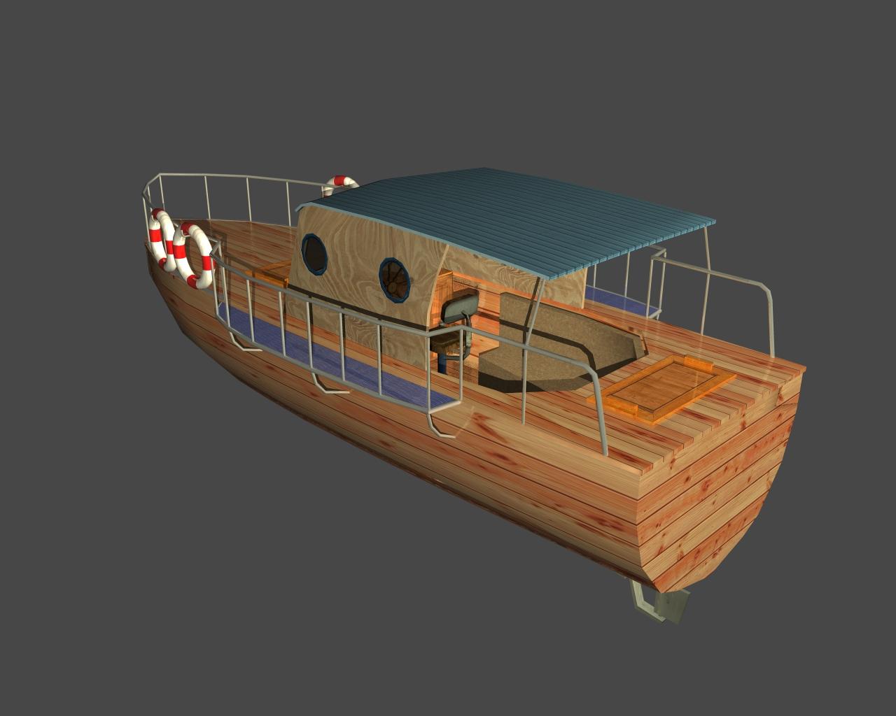 jauns laiva 3d 3ds 165407
