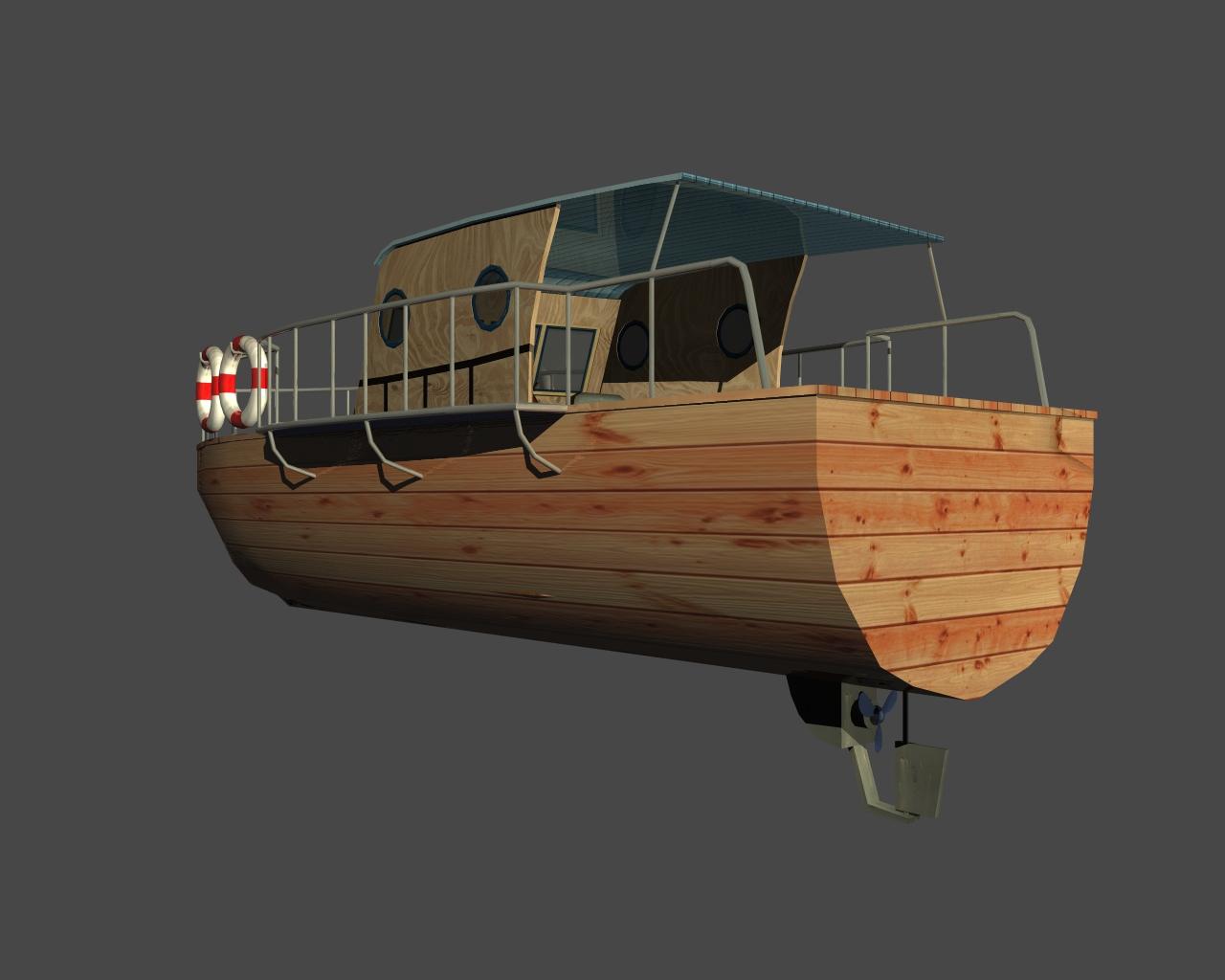 jauns laiva 3d 3ds 165408