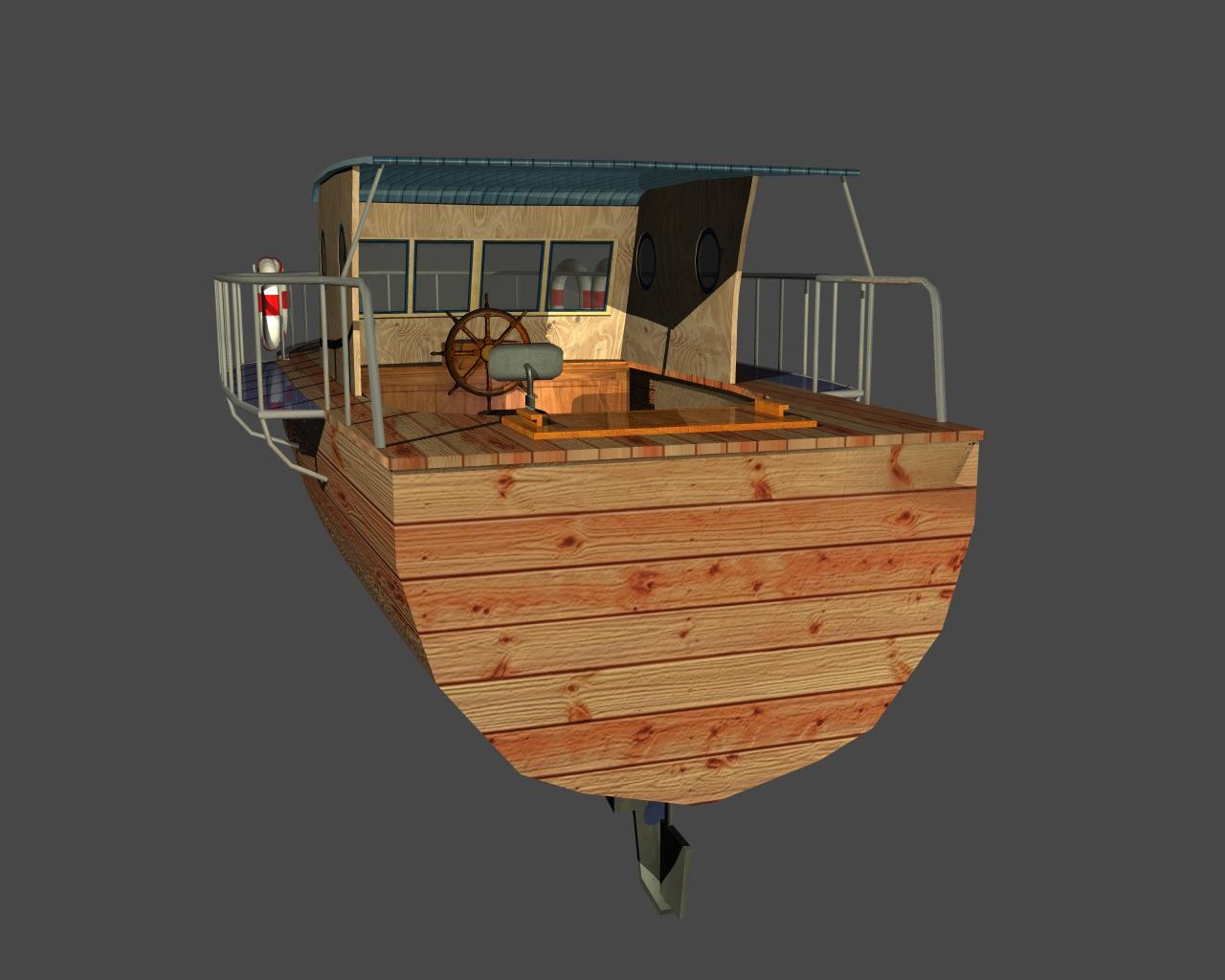 jauns laiva 3d 3ds 165409