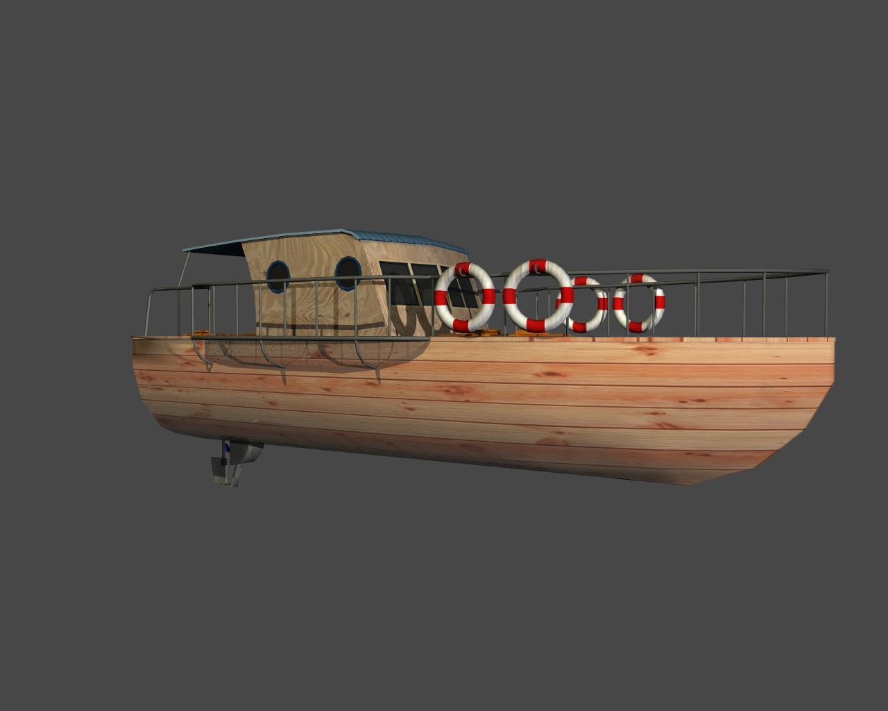 jauns laiva 3d 3ds 165412