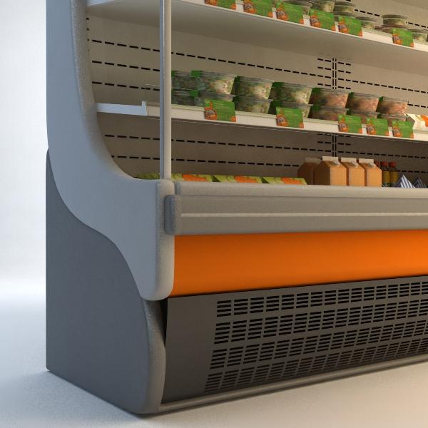 refrigerated display case 3d model 3ds max fbx texture obj 114749