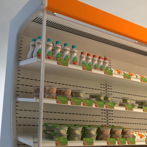 refrigerated display case 3d model 3ds max fbx texture obj 114751