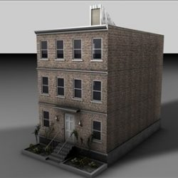 Apartment Building ( 49.38KB jpg by matttrout )