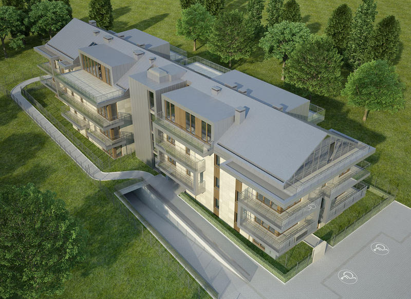 contemporary multi unit house 3d model 3ds max dxf dwg fbx c4d dae x lwo 3dm hrc xsi  texture cod scn wrl wrz obj 118942