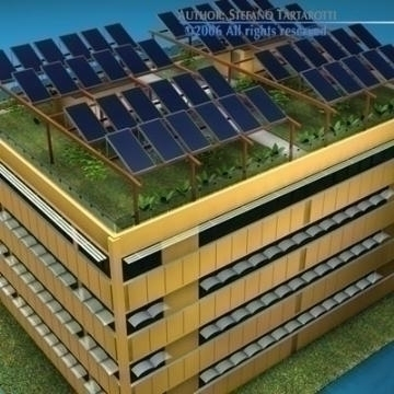ecological building 3d model 3ds dxf c4d obj 78497