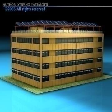 ecological building 3d model 3ds dxf c4d obj 78501