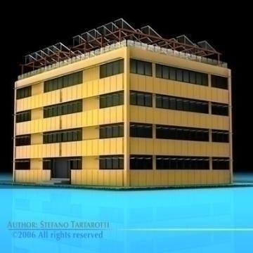 ecological building 3d model 3ds dxf c4d obj 78503