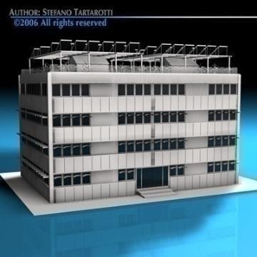 ecological building 3d model 3ds dxf c4d obj 78505