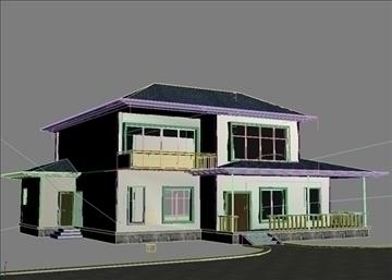villa 2 3d model 3ds max 94416