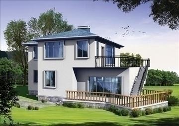 villa 3 3d model 3ds max 94413