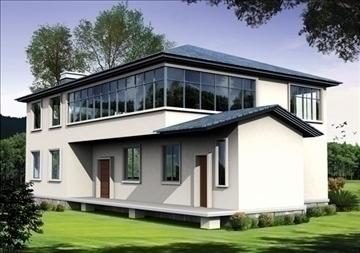 villa 5 3d model 3ds max 94409