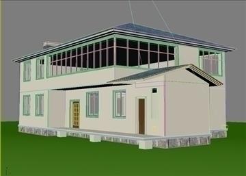 villa 5 3d model 3ds max 94410