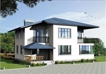 villa 6 3d model 3ds max 94407