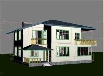 villa 6 3d model 3ds max 94408