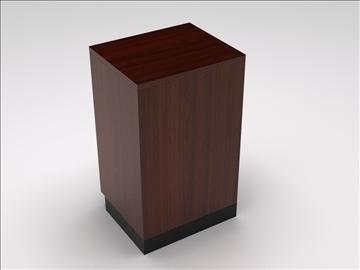 vitrīna kioska sala 3d modelis 3ds max dwg 100747