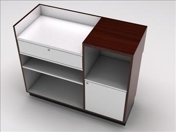 vitrīna kioska sala 3d modelis 3ds max dwg 100748