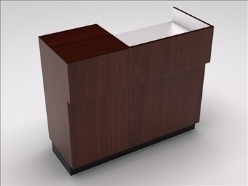 vitrīna kioska sala 3d modelis 3ds max dwg 100749