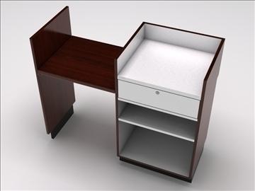 vitrīna kioska sala 3d modelis 3ds max dwg 100750