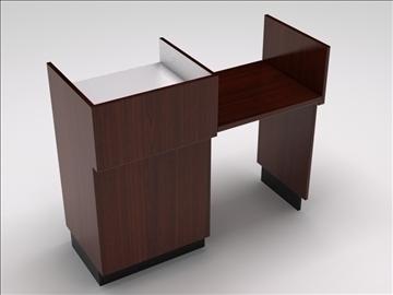 vitrīna kioska sala 3d modelis 3ds max dwg 100751
