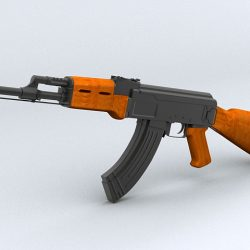 AK-47 Assault Rifle ( 181.5KB jpg by maxman )