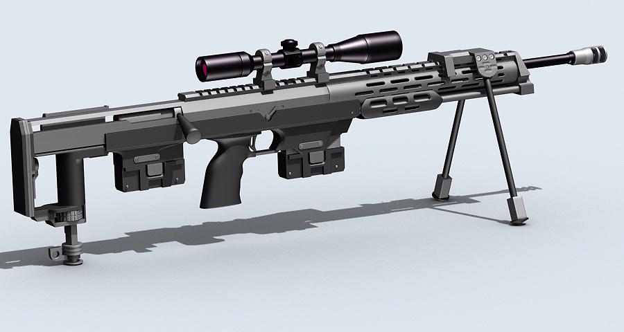 amp dsr-1 3d model max fbx obj 122603