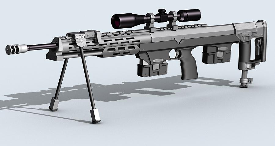 amp dsr-1 3d model max fbx obj 122604