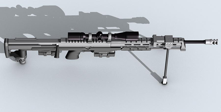 amp dsr-1 3d model max fbx obj 122607