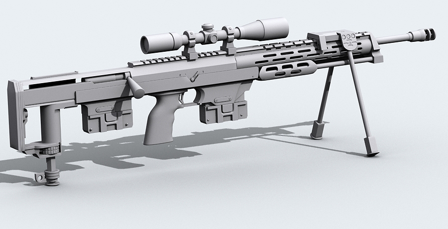 amp dsr-1 3d model max fbx obj 122608