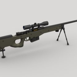 AWP Sniper Rifle ( 131.71KB jpg by GMichael )