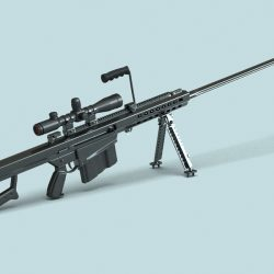 Barrett M82 Sniper Rifle ( 150.44KB jpg by GMichael )