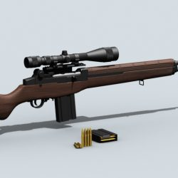M21 Sniper Rifle ( 147.46KB jpg by maxman )