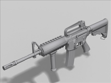 m4 carbine next gen weapon 3d model 3ds max obj 88205