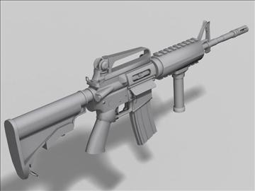 m4 carbine next gen weapon 3d model 3ds max obj 88206