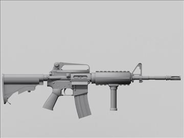 m4 carbine next gen weapon 3d model 3ds max obj 88207