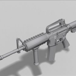 M4 carbine next gen weapon 3d model ( 33.49KB jpg by weapons3d )
