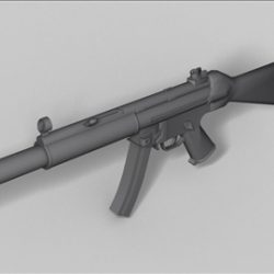 MP5 SD  next generation weapon 3d model ( 36.99KB jpg by weapons3d )