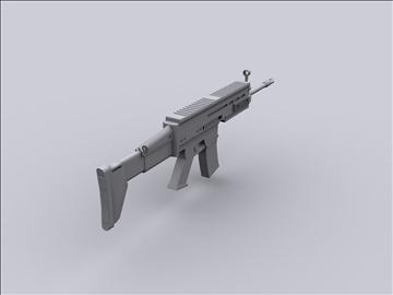 ožiljak 3d model 3ds fbx obj 92781