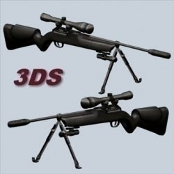 Sniper Rifle ( 75.27KB jpg by prolithic )