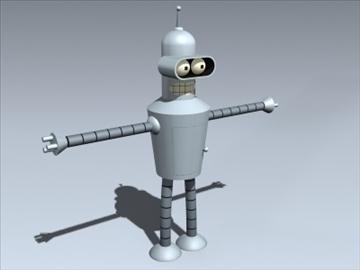 Bender 3d modelis 3ds max lwo ma mb obj 99327