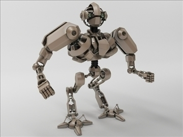 bot03 3d model 3ds max obj 104179