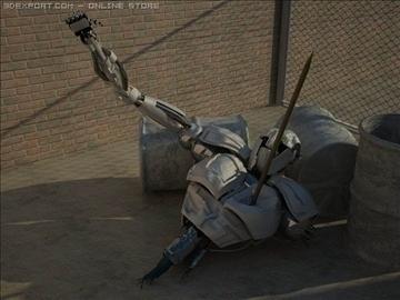 robot wedi'i dorri model max 3d obj 100361