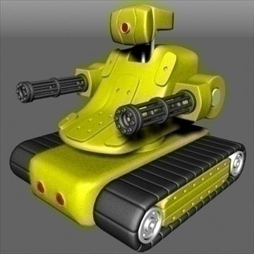 robot 3d model max 92411