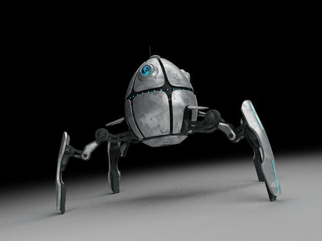 robot ae300 model 3d 3ds max fbx obj 116624