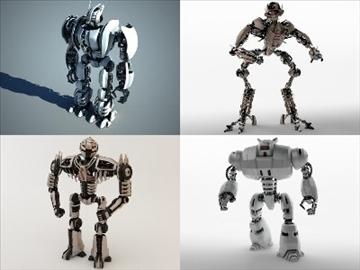 robotu kolekcija 3d modelis 3ds max fbx c4d obj 106842