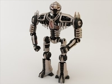 robot collection 3d model 3ds max fbx c4d obj 106849