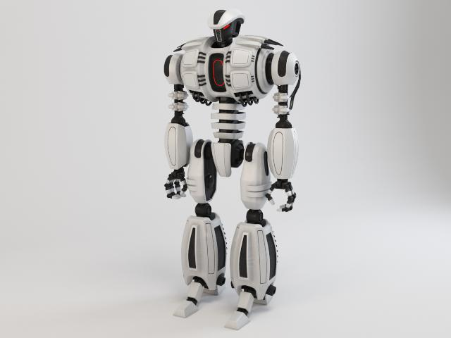 robot dg540 model 3d 3ds max fbx obj 118774