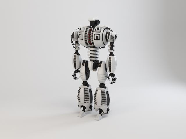 robot dg540 model 3d 3ds max fbx obj 118775