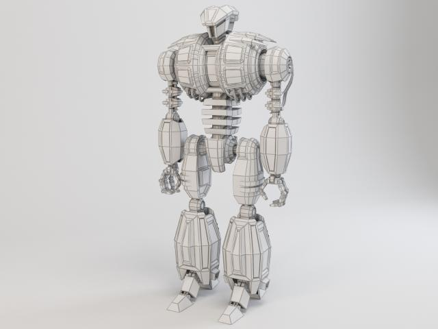 robot dg540 model 3d 3ds max fbx obj 118776