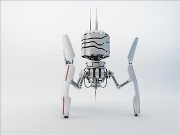 robot drt200 3d model 3ds max fbx obj 108566